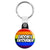Groom's Entourage - LGBT Gay Wedding Key Ring