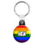 Hen - LGBT Gay Wedding Button Key Ring