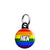 Hen - LGBT Gay Wedding Button Mini Keyring
