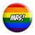 Mrs - LGBT Gay Wedding Pin Button Badge