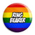 Ring Bearer - LGBT Gay Wedding Pin Button Badge