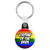 Stepdad of the Bride - LGBT Gay Wedding Key Ring