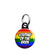 Stepdad of the Bride - LGBT Gay Wedding Mini Keyring