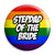Stepdad of the Bride - LGBT Gay Wedding Pin Button Badge