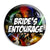 Bride's Entourage - Star Wars Film Movie Theme Wedding Pin Button Badge