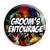 Groom's Entourage - Star Wars Film Movie Theme Wedding Pin Button Badge