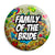 Family of the Bride - Tattoo Theme Wedding Pin Button Badge