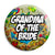 Grandma of the Bride - Tattoo Theme Wedding Pin Button Badge