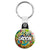 Groom - Tattoo Theme Wedding Key Ring