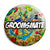 Groomsmate - Grooms Mate Tattoo Theme Wedding Pin Button Badge