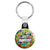 Just Married - Tattoo Theme Wedding Key Ring