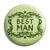 Best Man - Classic Marriage Button Badge