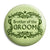 Brother of the Groom - Classic Marriage Button Badge