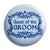 Guest of the Groom - Classic Marriage Button Badge