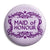 Maid of Honour - Classic Marriage Button Badge