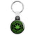 Eco Friendly 100% Natural Cannabis - Key Ring
