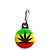 Weed Leaf Rasta Flag - Cannabis Zipper Puller