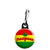 Marijuana Rasta Flag - Cannabis Zipper Puller