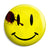 The Comedian Watchmen Blood Smiley - Button Badge