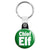 Chief Elf - Christmas Xmas Santa's Grotto Worker Key Ring