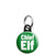 Chief Elf - Christmas Xmas Santa's Grotto Worker Mini Keyring