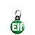 Elf - Christmas Xmas Santa's Grotto Worker Mini Keyring