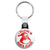 I Believe in Santa Claus - Father Christmas Key Ring