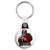 Misfits Horror Punk Badge - Xmas Santa Claus Key Ring