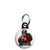 Misfits Horror Punk Badge - Xmas Santa Claus Mini Keyring