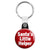 Santa's Little Helper - Xmas Father Christmas Key Ring