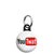You Twat - You Tube Mini Keyring