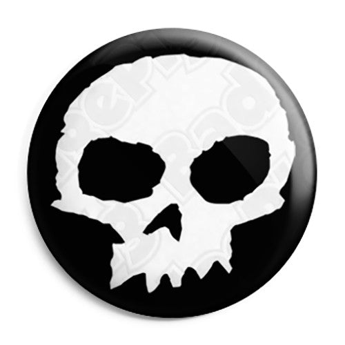 Zero Skull Logo - Jamie Thomas Skateboard Button Badge