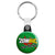Zombie Eat Flesh - Subway Horror Waking Dead Key Ring