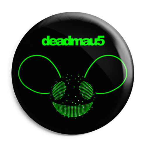 deadmau5 - 4x4 Album - Techno House Button Badge