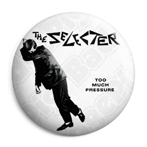 The Selecter - Too Much Pressure 2 Tone Ska Pin Button Badge