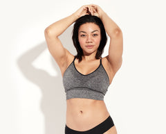 Knix Longevity Bra for hiking and bike riding