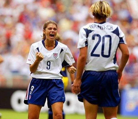 Mia Hamm Favorite Female Athlete