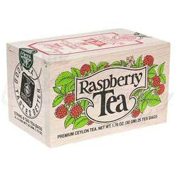 Raspberry Tea Wooden Box