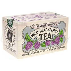 Wild Blackberry Tea Wooden Box