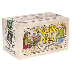 Vanilla Cream Wooden box 25 tea bags