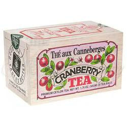 Cranberry Tea Wooden Box