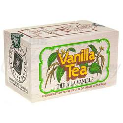 Vanilla Tea In Wooden Box 25's