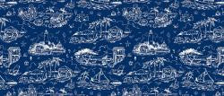 "<p>&nbsp;<span style=""font-size: 12pt; line-height: 107%;"">In the timeless combination of navy and white, this print revives the whimsy summer toile and enhances the seaside look of the Coral &amp; Navy color story.</span></p> <p>&nbsp;</p> <p class=""MsoNormal""><u><strong><span style=""color: rgb(29, 31, 31); line-height: 12.75pt;"">Product Details:</span></strong></u><span style=""color: rgb(29, 31, 31); line-height: 12.75pt;""> </span></p> <p class=""MsoNormal""><span style=""color: rgb(29, 31, 31); line-height: 12.75pt;"">Color-fast designs are permanently dyed so they will not fade with each wash</span><span style=""font-size:12.0pt;line-height:107%""><o:p></o:p></span></p> <p class=""MsoNormal"" style=""margin-bottom:0in;margin-bottom:.0001pt;line-height: 12.75pt""><span style=""mso-fareast-font-family:&quot;Times New Roman&quot;;mso-bidi-font-family: Calibri;mso-bidi-theme-font:minor-latin;color:#1D1F1F"">Rubber backing adds skid resistance and &ldquo;memory&rdquo; so the rug lays flat every time<o:p></o:p></span></p> <p class=""MsoNormal"" style=""margin-bottom:0in;margin-bottom:.0001pt;line-height: 12.75pt""><span style=""mso-fareast-font-family:&quot;Times New Roman&quot;;mso-bidi-font-family: Calibri;mso-bidi-theme-font:minor-latin;color:#1D1F1F"">Low profile allows doors to pass over easily<o:p></o:p></span></p> <p class=""MsoNormal"" style=""margin-bottom:0in;margin-bottom:.0001pt;line-height: 12.75pt""><span style=""mso-fareast-font-family:&quot;Times New Roman&quot;;mso-bidi-font-family: Calibri;mso-bidi-theme-font:minor-latin;color:#1D1F1F"">MACHINE WASHABLE AND DRYABLE<o:p></o:p></span></p> <p class=""MsoNormal"" style=""margin-bottom:0in;margin-bottom:.0001pt;line-height: 12.75pt""><span style=""mso-fareast-font-family:&quot;Times New Roman&quot;;mso-bidi-font-family: Calibri;mso-bidi-theme-font:minor-latin;color:#1D1F1F"">Runner size has 90-degree corners<o:p></o:p></span></p> <p class=""MsoNormal"" style=""margin-bottom:0in;margin-bottom:.0001pt;line-height: 12.75pt""><span style=""mso-fareast-font-family:&quot;Times New Roman&quot;;mso-bidi-font-family: Calibri;mso-bidi-theme-font:minor-latin;color:#1D1F1F"">Suggested Retail: $80.00<o:p></o:p></span></p>"