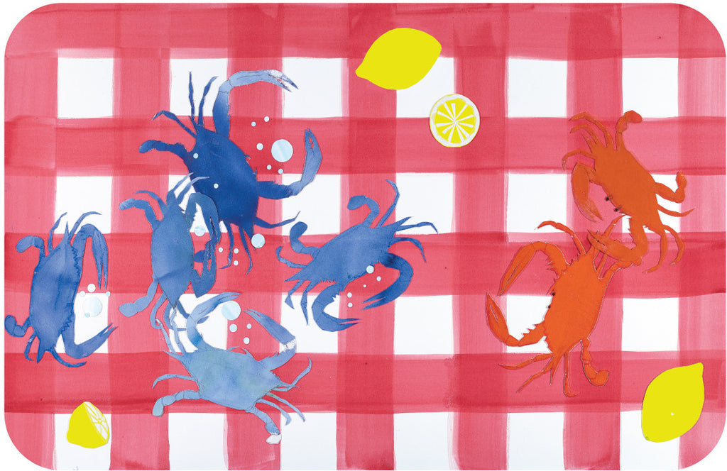 Checkered Crabs {by Liz Lind}