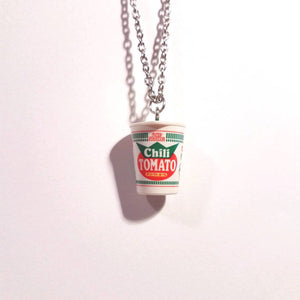 Cup noodle necklace