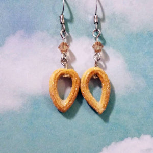 Churro Cinnamon Sugar Earrings