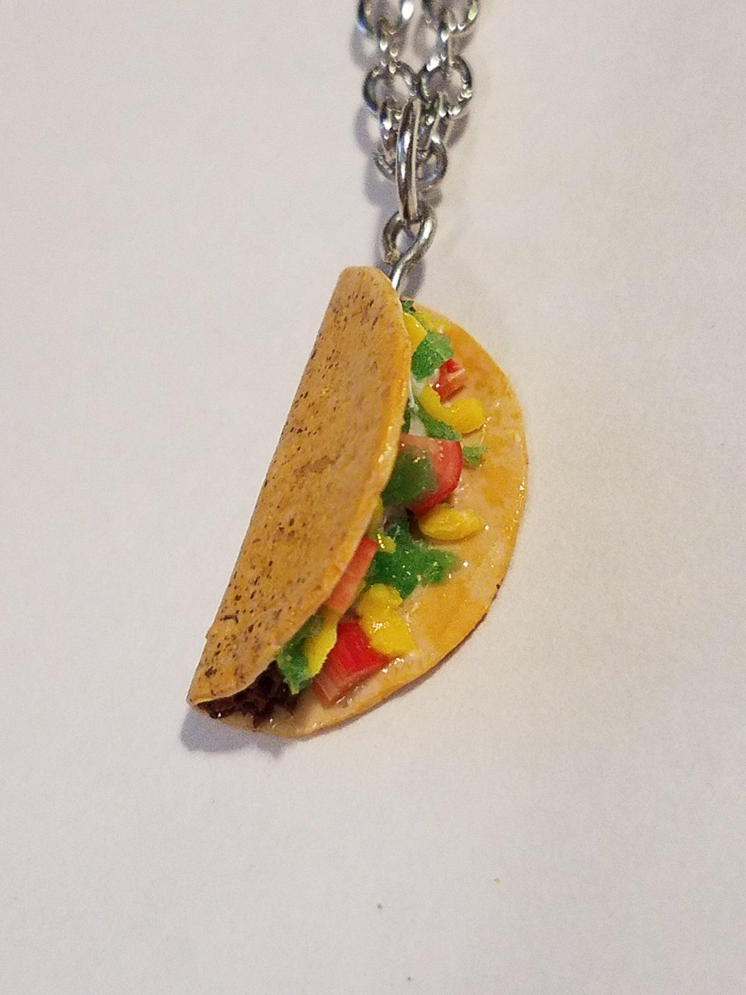 Taco Necklace