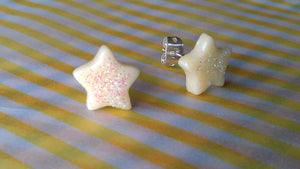 Glow in the Dark Star Stud Earrings