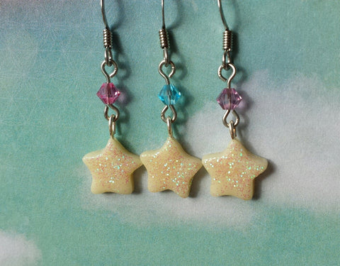 Glow in the Dark Star Earrings