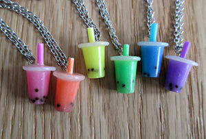 Bubble Tea Necklace